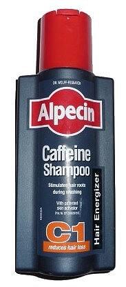 Alpecin shampoo bottle