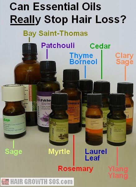 Aromatherapy oils for hair loss