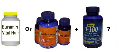 Euramin Vital Hair and alternative supplements
