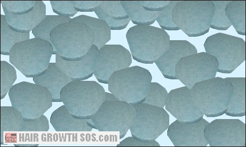 Finasteride tablets for hair loss