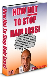 How Not To Stop Hair Loss ebook cover