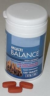 A multi-vitamin and mineral formula