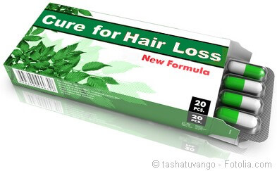 Natural hair regrowth product
