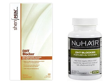NuHair and Shen Min DHT blocker products