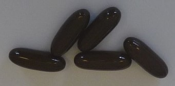 Saw palmetto capsules