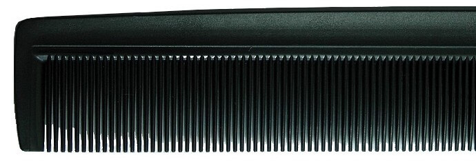 Fine-toothed comb for hair loss microneedling