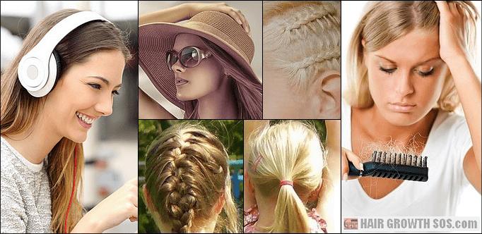 Friction alopecia risk in women