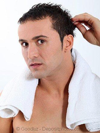 Hair loss concealer problem