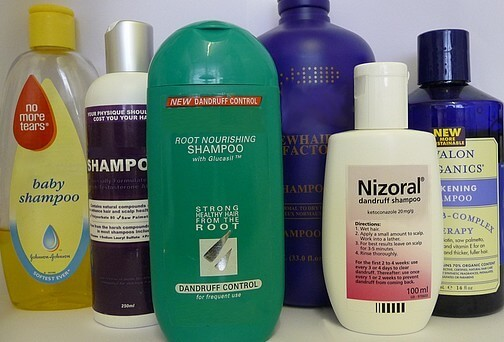 Hair regrowth shampoos