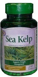 Sea kelp iodine supplement