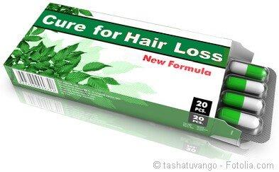 Natural hair regrowth product