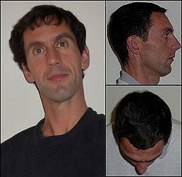Paul Taylor face-on, side-on and crown of head